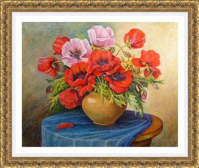 Anatolii Kuznetsov  ≪ケシの花≫