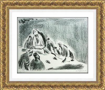 Mikhail Karasik 025 ≪先生あるいは回教僧≫