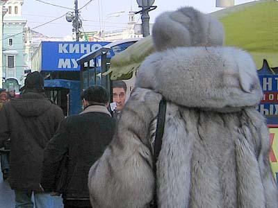 ロシアの毛皮