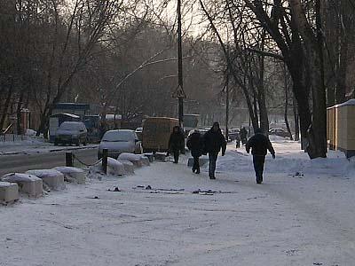 モスクワの雪