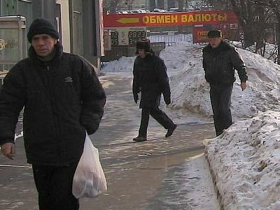 モスクワの昼休み