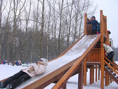 モスクワの滑り台