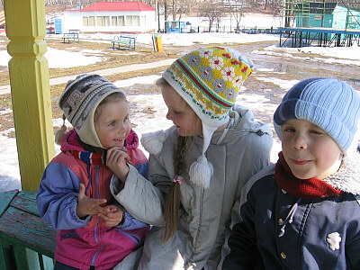モスクワの子供たち